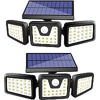 Zhupig 3 Adjustable Heads Solar Powered Outdoor Lights