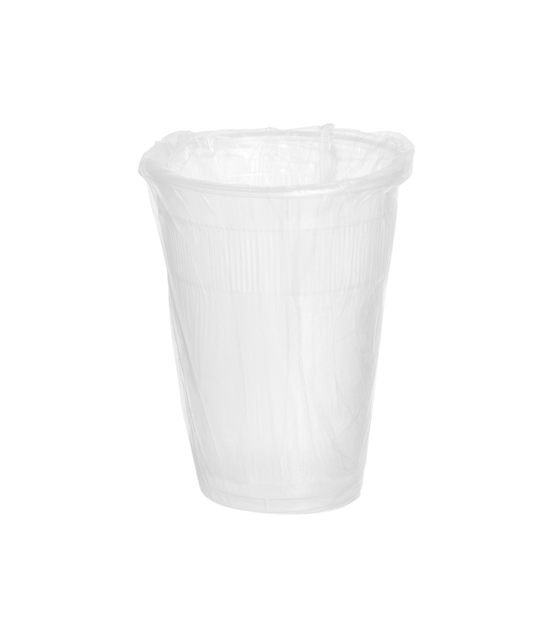 Crystalware IW9PPC1000 PP Individually Wrapped Disposable Plastic Cups, 9 oz. (Pack of 1000)