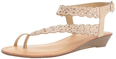 0a19443323a Unlisted Women s Color Chain Wedge Sandal