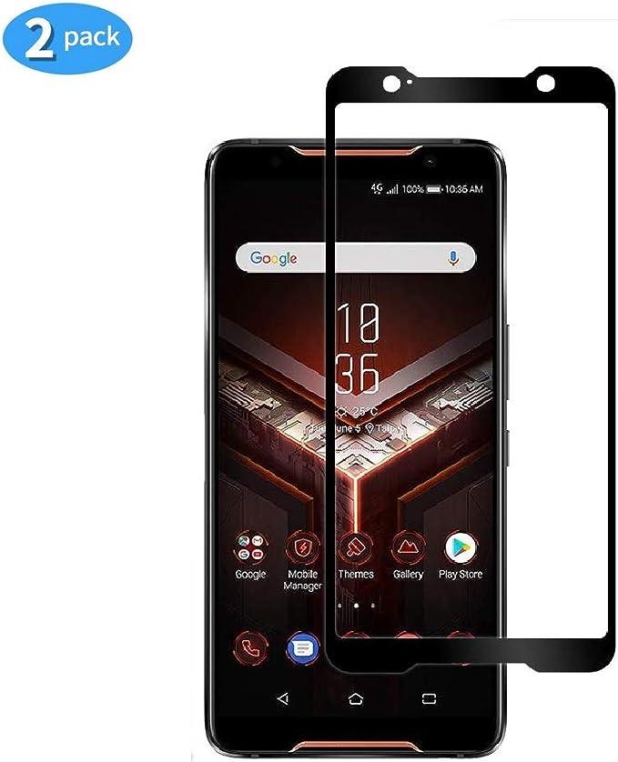 yueer [2 Pack ASUS Rog Phone/ZS600kl Protector de Pantalla,[ 9H ...