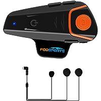 Intercomunicador casco moto Fodsports BT-S2 intercomunicador Casco Moto