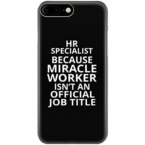 2681363ed6 Image Unavailable. Image not available for. Color: HR Specialist Because  Miracle Worker ...