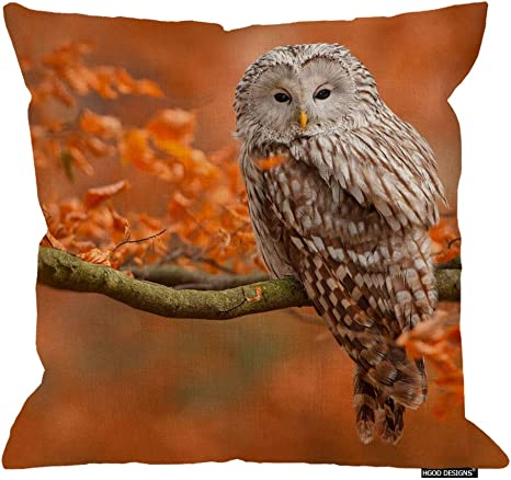 Forest Branch Moon Pattern Pillow Cover Cushion Case Home Sofa Bed Decor