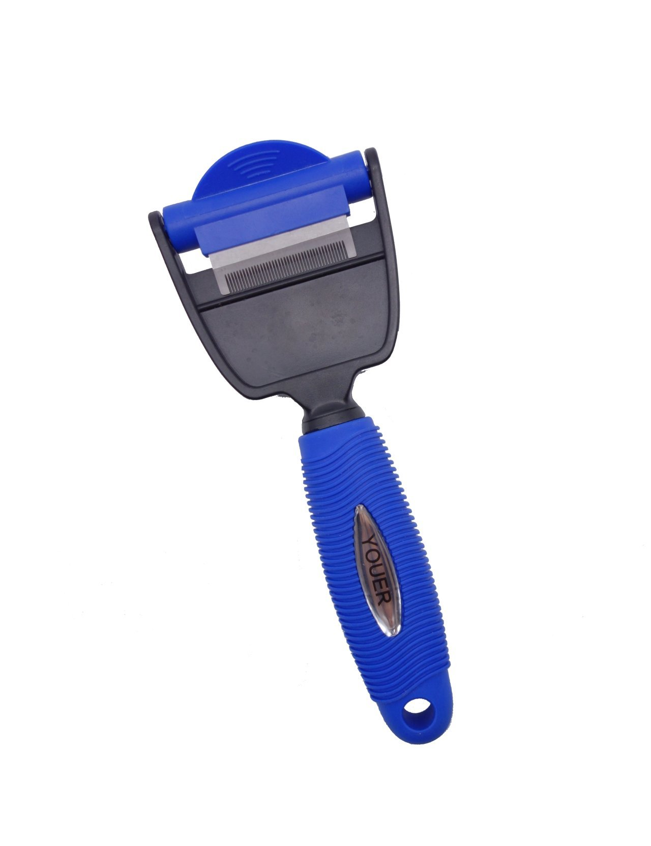 Dog brush for Shedding | de-Shedding and Groomming Tool | Reduce 90%+ Shedding for Short and Long Hair Dogs and Cats by Youer Lifestyle by Youer