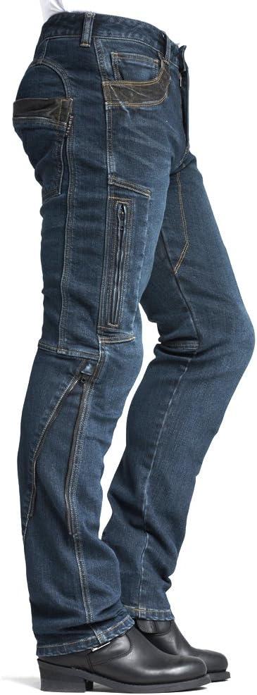 MAXLER JEAN Biker Jeans for men Motorcycle Motorbike riding kevlar Jeans 002 Blue 38