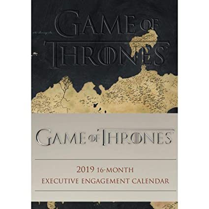 Game of Thrones 2019 16-Month Executive Planner Engagement Calendar