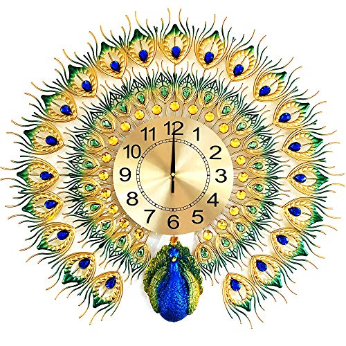 Beautiful Peacock Wall Clock