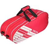 One O One   Lines Collection Triple Compartment Badminton/Tennis Kitbag