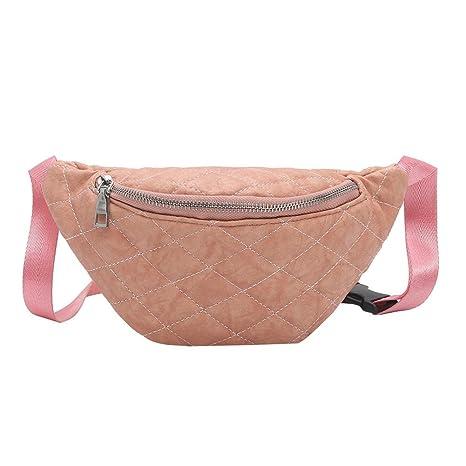 xintiandi Solide Couleur Femme Tour de Taille Packs Trendy Simple PU épaule  décontracté Ceinture Sacs, 3252462463e