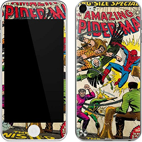 Marvel Comics iPod Touch (5th Gen&2012) Skin - Spider-Man vs Sinister Six Vinyl Decal Skin For Your iPod Touch (5th Gen&2012) - Spiderman Case For Ipod