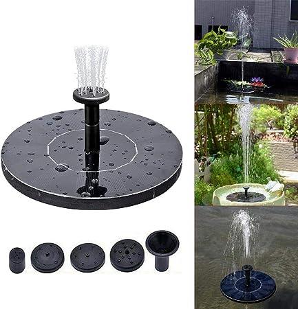 Pompe /à eau flottante de fontaine d/énergie solaire pour laquarium de piscine de bassin de jardin Pompe solaire de fontaine