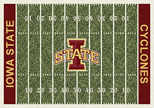 - NCAA Home Field Rug - Iowa State Cyclones, 3'10