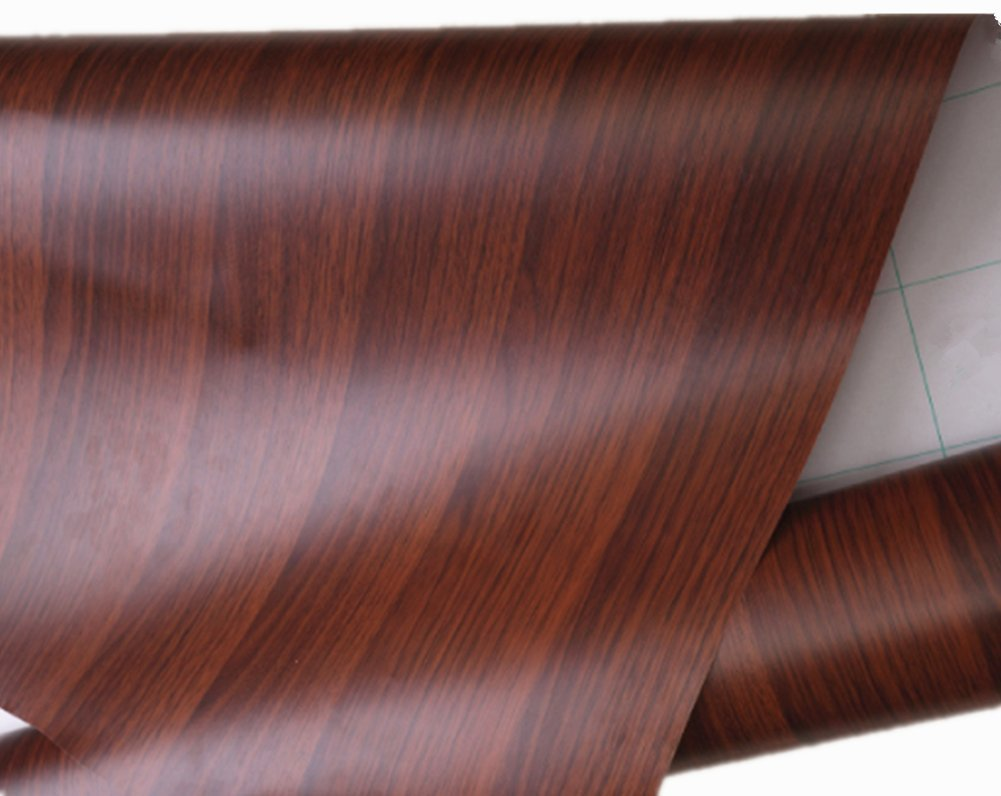 Faux Wood Grain Contact Paper Self-Adhesive Decorative Creative Covering 12''x79''