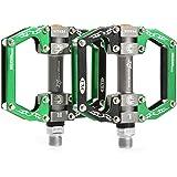 ROCKBROS(ロックブロス)マウンテンバイク プラットフォーム ペダル フラット ペダル アルミ アクスル9/16 ベアリング 密閉型