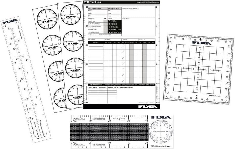FlyGA Set de navegación de vuelo (kit de arranque de la aviación ...