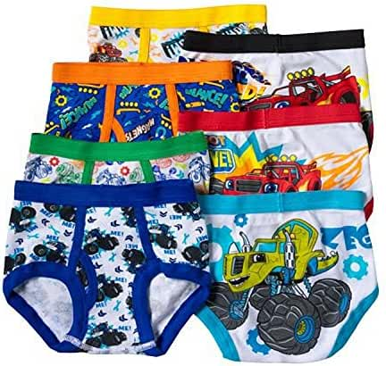 Blaze and the Monster Machines Toddler Boys 7 Pack Underwear Briefs