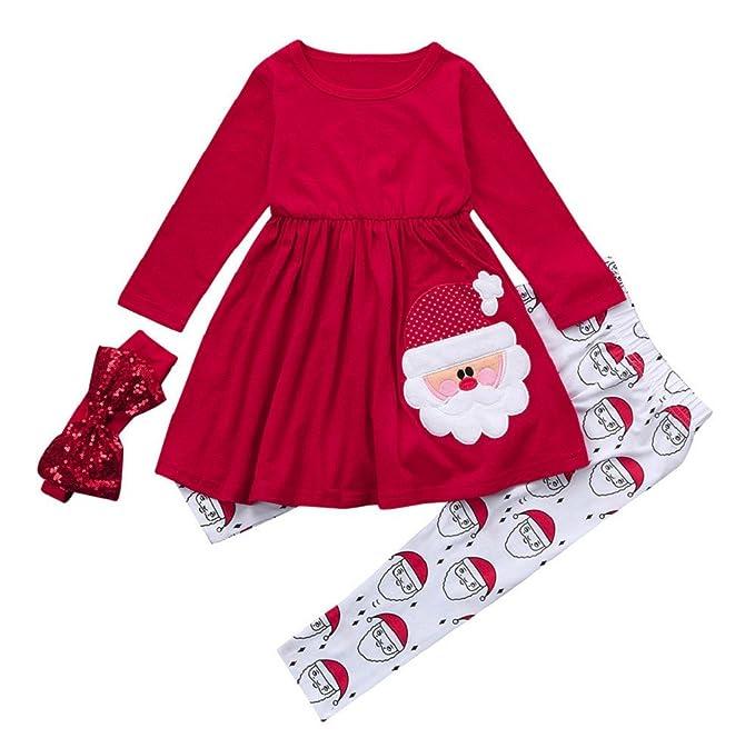 Conjuntos de bebé,Internet Navidad Tops + Pantalón Conjunto De Traje Niños Niño Niñas Bebé