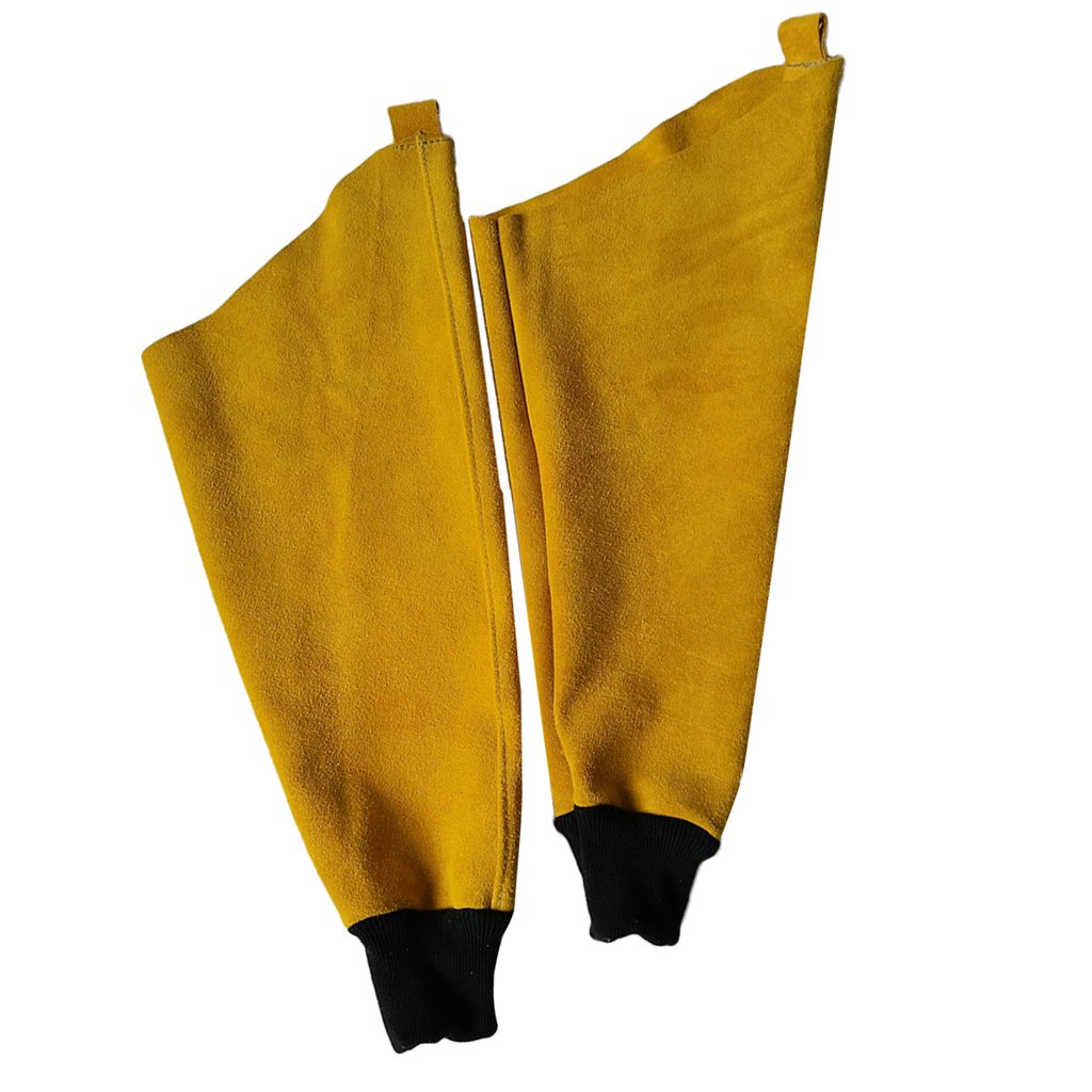 Almencla Welder Apron Welding Protective Clothing Heat Insulation Bib With Sleeves by Almencla (Image #6)
