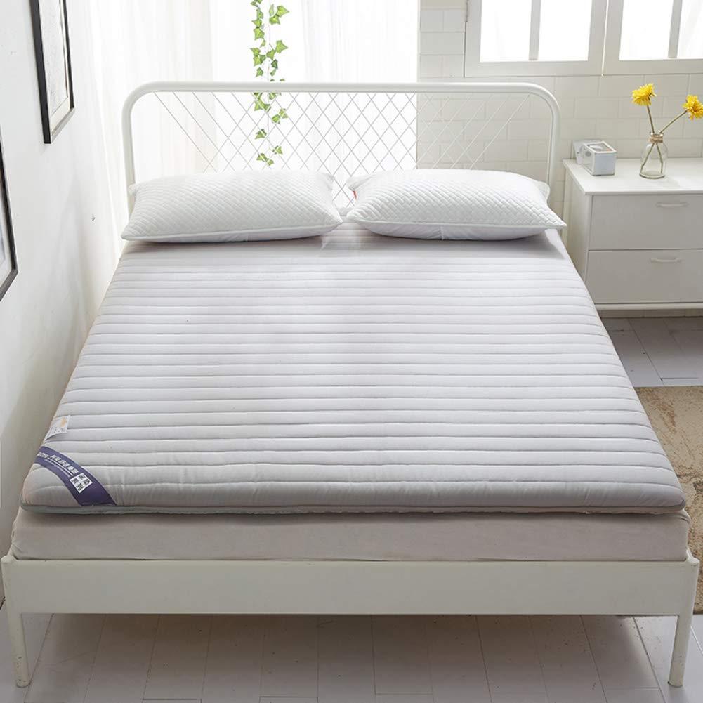 綿 畳 床 布団 マットレス マット, 式 通気性 マットレス トッパー 食品 日本語 ロールアップします。 リビング ルームの壁 寮-D 120x200cm(47x79inch) B07Q5JJX2Y D 120x200cm(47x79inch)