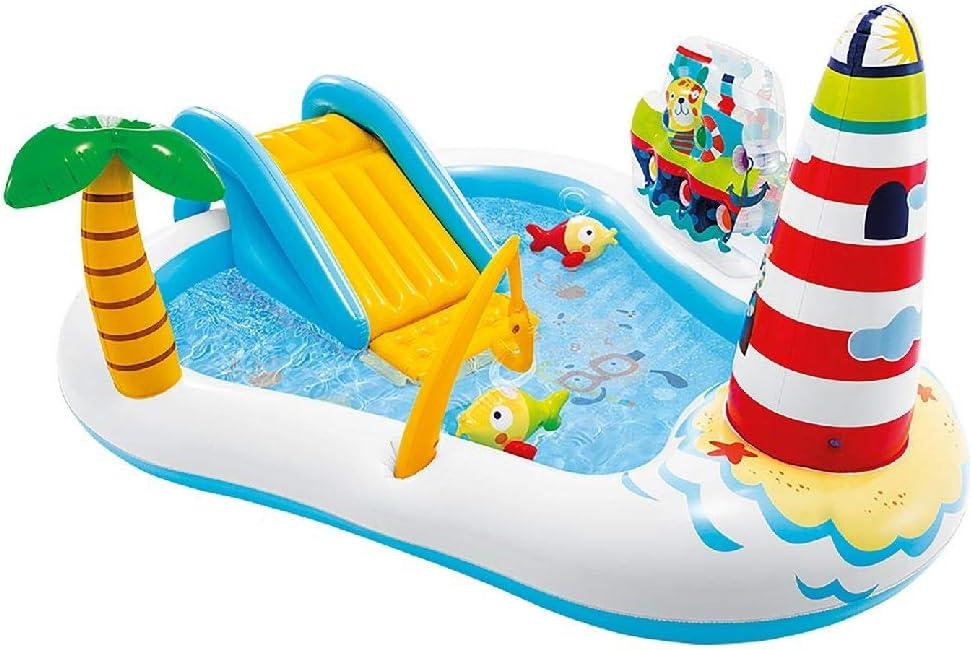 Intex 57162NP - Centro de juegos acuático con motivos de pesca