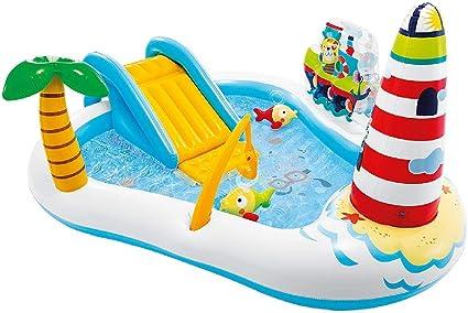 Intex 57162NP - Centro de juegos acuático con motivos de pesca: Amazon.es: Juguetes y juegos