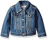 The Children's Place Baby Girls' Denim Jacket, China Blue 6065, 12-18 Months