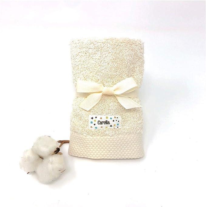 Toalla Eco algodón Orgánico Gots - Carelia Petits: Amazon.es: Bebé