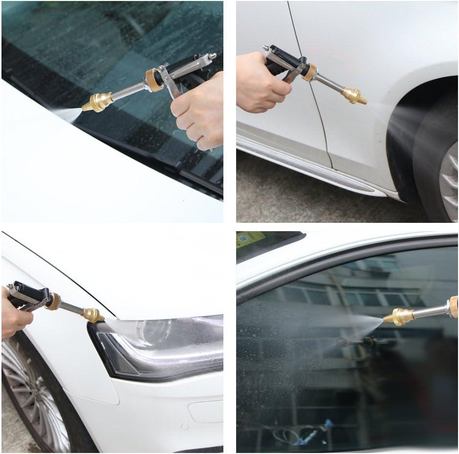 OurLeeme auto elettrica pompa ad alta pressione 130PSI lavaggio Pompa autoadescante Kit DC 12V 80W Car pulizia Rondella