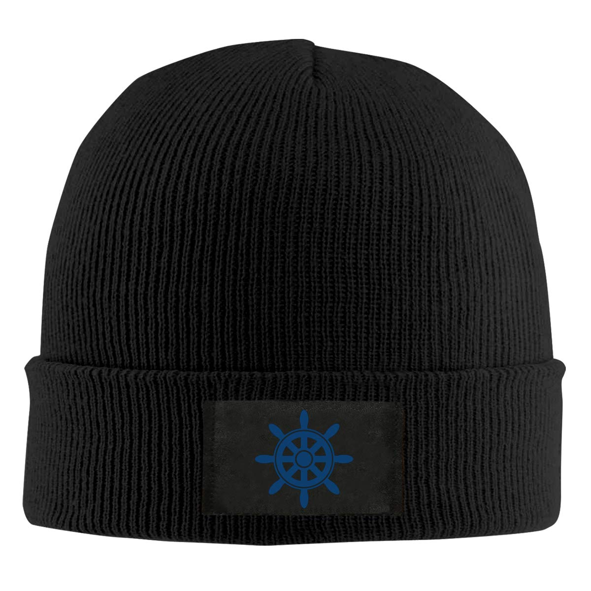 Men Women Nautical Anchor Ship Wheel Skull Hat Beanie Cap Winter Knit Hat Cap