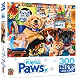 MasterPieces Playful Paws 300 Puzzles Collection - Home Wanted 300 Piece Jigsaw Puzzle