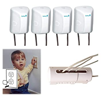 TOP SELLER Safe Outlet Plugs Wall Cord Covers Baby Protection 36 Count