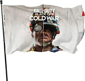 SEDSED Call-of-Duty_Black Ops Cold War Flag 3x5 Ft for Home/Business/Outdoor Flags Garden Decoration Durable Big Banner