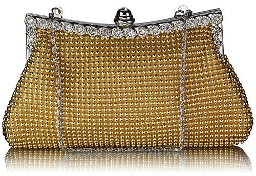 Sac Sacs Only Bridesmaid Main Fashion CWE00139 À Soir gold Petit Sacs LeahWard® Femme Main CWE0047 Bridal's Portefeuille Styliste K6qXqdU