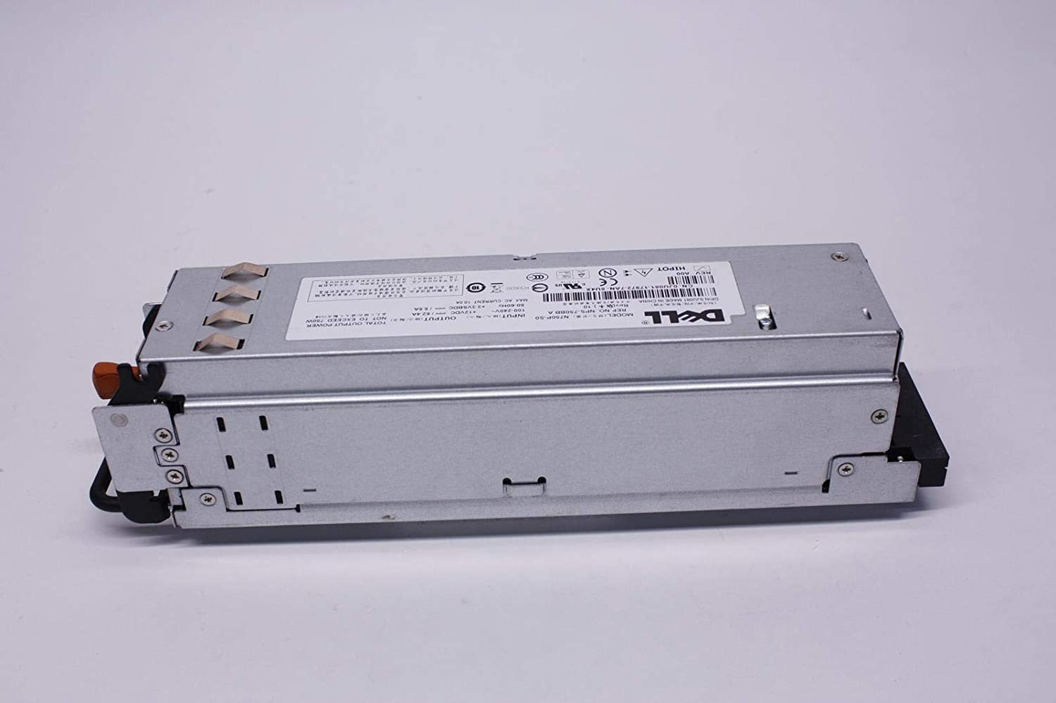 Genuine Dell 750W Watt KT838 JX399 N750P-S0 Redundant Power Supply Unit PSU For PowerEdge 2950 and PowerEdge 2970 Systems Compatible Part Numbers: NY526, RX833, W258D, X404H, GM266, JX399, JU081, Y8132, KT838, C901D, M076R Compatible Dell Model Numbers: Z750P-00, N750P-S1, NPS-750BB A, N750P-50, 7001072-Y000, N750P-S0