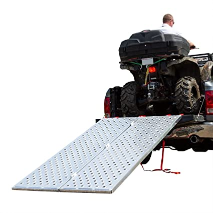 "Amazon com: Black Widow Bi ATV Ramp –BFP-9450 – Measures 7' 10"" Long"