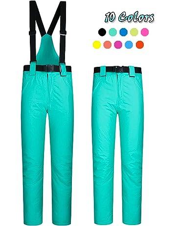 0cf1da503ab ELETOP Women s Snow Pants Outdoor Waterproof Windproof Ski Pants Warm  Insulated Snowboard Pants 10 Colors