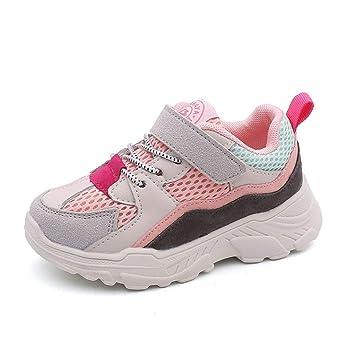 Schuhe Mesh YIFULY Kinder Sportschuhe Atmungsaktive Mädchen vN8mnw0