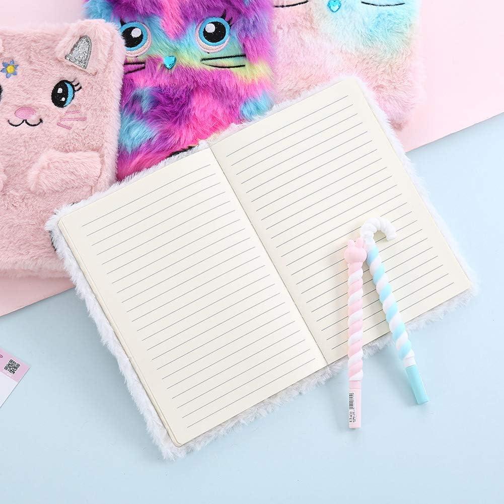 gatto e panda Colorful Cat Gatto colorato. Quaderno per ragazze Litty089 motivo
