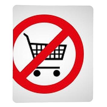 alfombrilla de ratón Sin icono del carro de compras grandes para cualquier uso. Ilustración de EPS10.: Amazon.es: Electrónica
