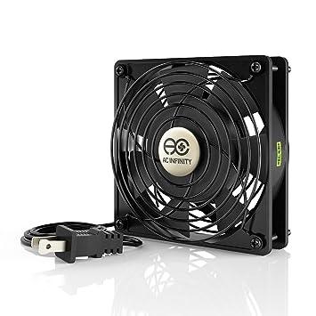 115v cooling fan wiring wiring diagram online Automotive Electric Fan Wiring amazon com ac infinity axial 1225, quiet muffin fan, 115v 120v ac 07 k1500 cooling fan wiring 115v cooling fan wiring