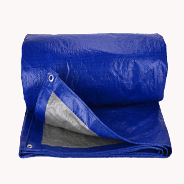 LRZS Blau Silber Regendichtes Tuch Wasserdicht Sonnencreme Plane Außensonnenschutz Staubdicht FeuchtigkeitsBesteändig Pflaster Dekoration Kunststoff Wasserdicht Tuch Krepp