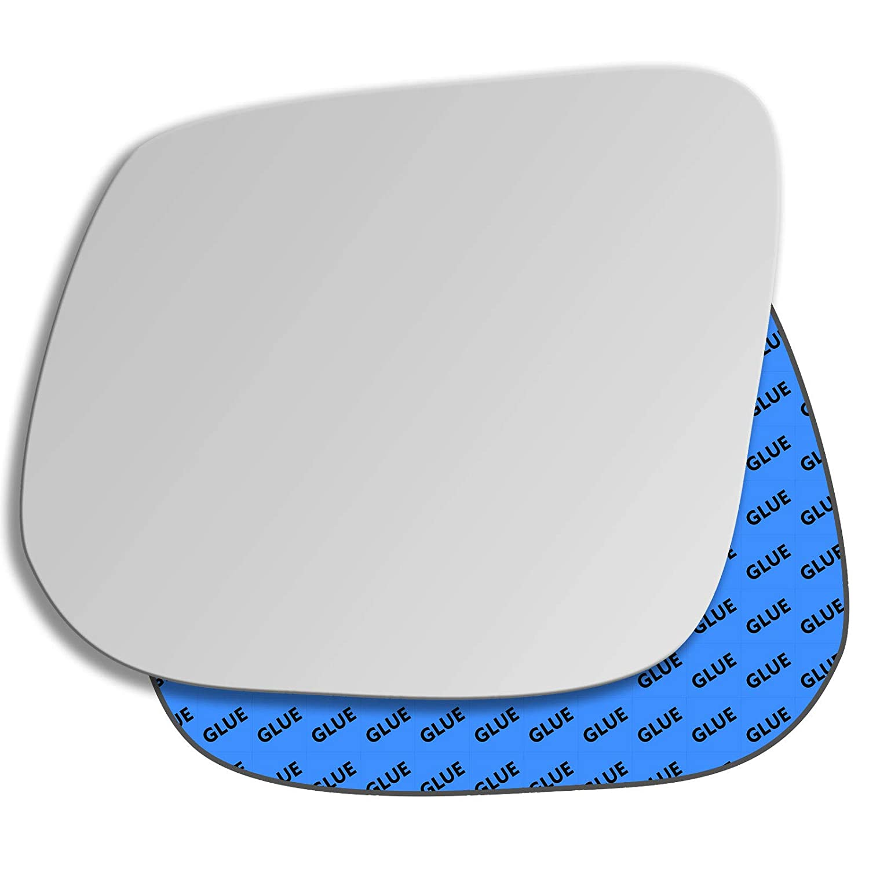 Hightecpl 809LS Left Passenger Side Convex Door Wing Mirror Glass