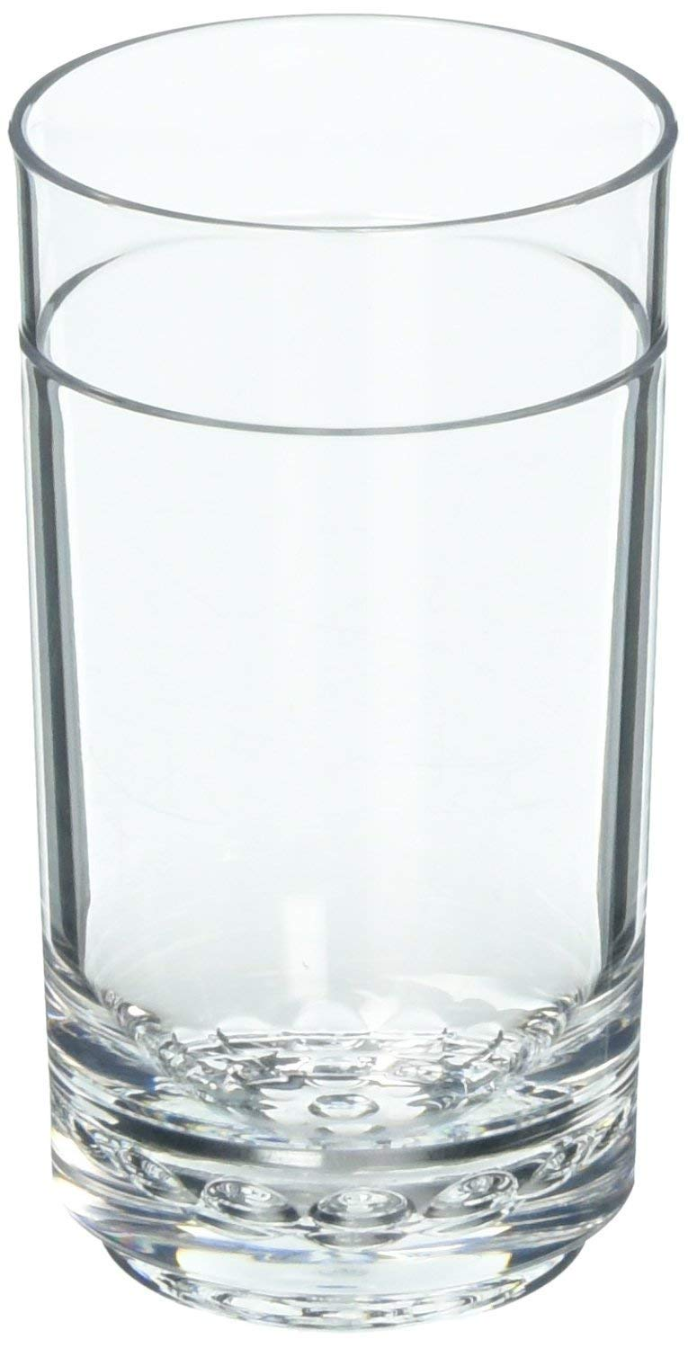Drinique ELT-TA-CLR-24 Elite Tall Unbreakable Tritan Highball Glasses, 14 oz (Case of 24), Clear