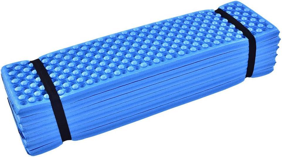 4/Colori Leggero Pieghevole Sedile Imbottito Palestra Yoga Esercizio Tappetino da Pavimento Pieghevole per Campeggio Escursioni all Aperto Sport Dilwe Foam Sit Mat