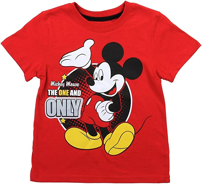 Kids Mickey T-Shirt Prince Top Disney Mickey T-shirt