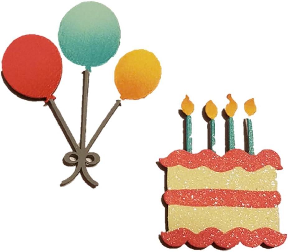 Swell Amazon Com Embellish Your Story Happy Birthday Set Of 2 Assorted Personalised Birthday Cards Veneteletsinfo