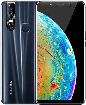 CAOQAO Nuevo 6.3 Pulgadas Smartphone WiFi Bluetooth Android 9.1 1G 4ROM 3G Llamar teléfono móvil (Negro): Amazon.es: Electrónica