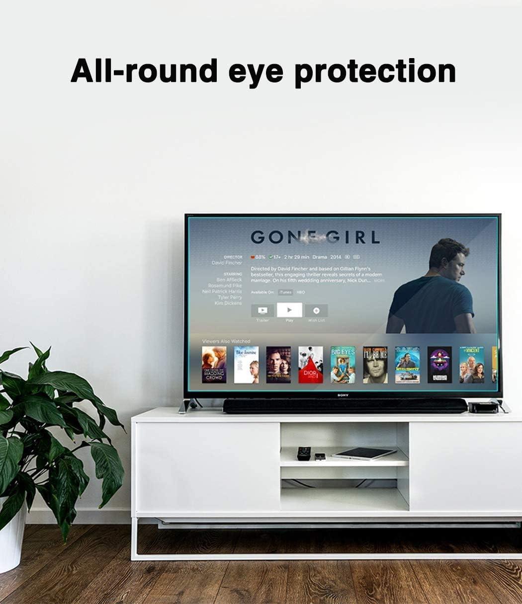 DPPAN 70 Pulgadas Anti Luz Azul TV Protección de Pantalla para Televisor, Ultra Claro LED Antirreflejos Protección Ojos Screen Protector, Display Película Protectora Anti Arañazos,A: Amazon.es: Electrónica