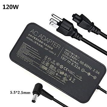 Amazon.com: 19V 6.32A 120W adaptador de portátil ADP-120RH B ...