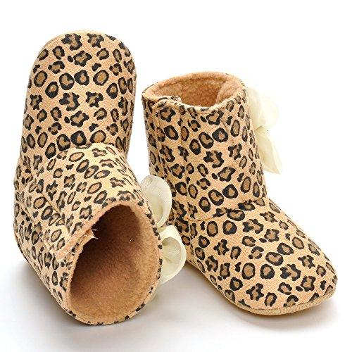 Bébé fille Leopard fleur de coffre - Marron - marron,